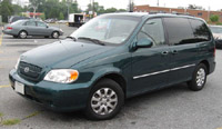 Kia Sedona 2002-2005 Service Repair Manual