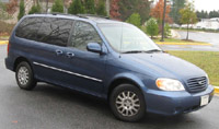 Kia Sedona Carnival German 1999-2001 Service Repair Manual