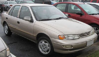 Kia Sephia 1994-1997 Service Repair Manual
