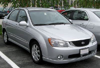 Kia Spectra 2003-2008 Service Repair Manual